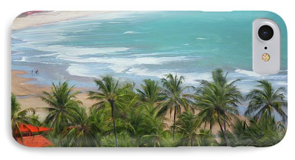 Tiabia, Brazil Beach IPhone Case