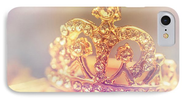 Tiara Crown With Diamonds IPhone Case by Jorgo Photography - Wall Art Gallery