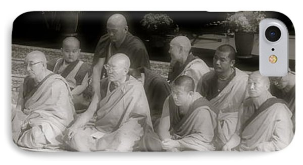 IPhone Case featuring the photograph Tibetan Monks by Kate Purdy