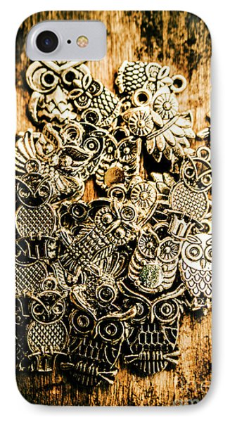 Tibetan Owl Charms IPhone Case