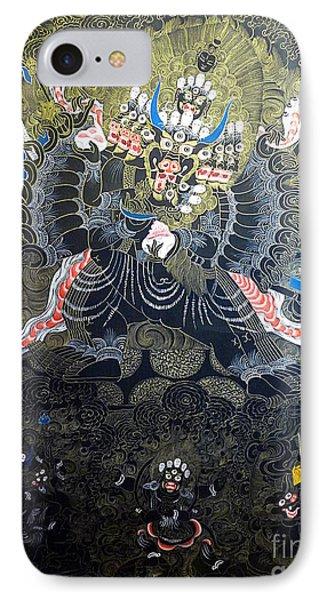 Tibetan Thangka IPhone Case by Birgit Moldenhauer