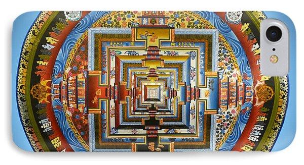 Tibetian Mandala  IPhone Case by Birgit Moldenhauer