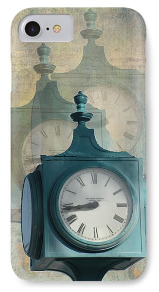 Tick Tock Version Two Phone Case by Rosalie Scanlon