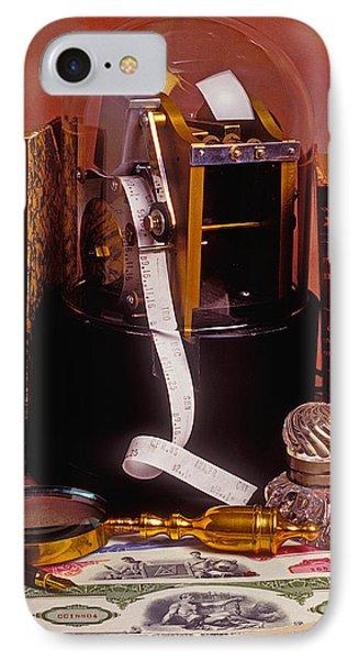 Ticker Tape Machine IPhone Case