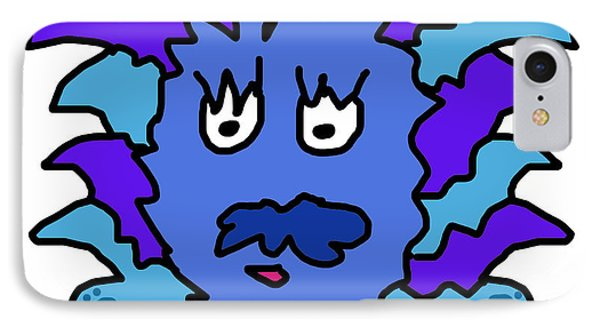 Tickle Monster Phone Case by Jera Sky