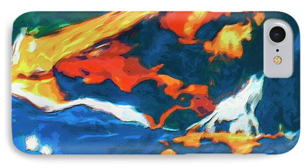 IPhone Case featuring the painting Tidal Forces by Dominic Piperata