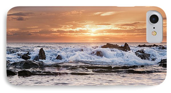 IPhone Case featuring the photograph Tidal Sunset by Heather Applegate