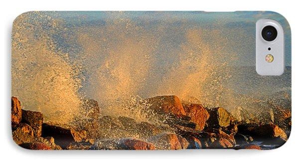 Tidal Surge - Cape Cod Bay IPhone Case