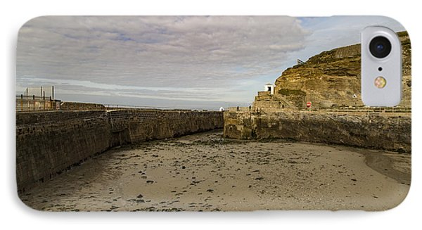IPhone Case featuring the photograph Tide Out Portreath by Brian Roscorla