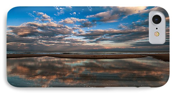 IPhone Case featuring the photograph Tide Pool Reflections by Jim Moore