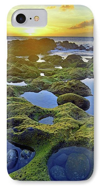 IPhone Case featuring the photograph Tide Pools At Sunset by Tara Turner