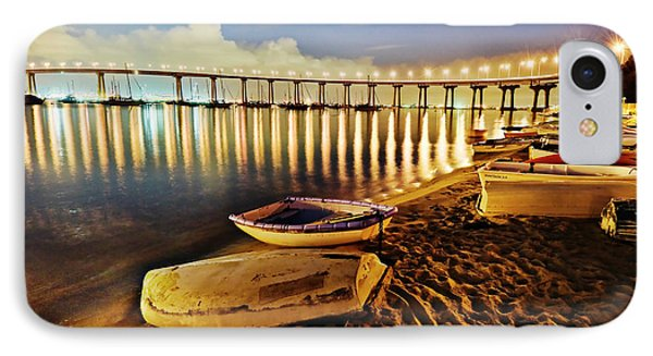 Tidelands Taxis IPhone Case by Dan McGeorge
