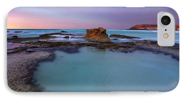 Kangaroo iPhone 7 Case - Tidepool Dawn by Mike  Dawson
