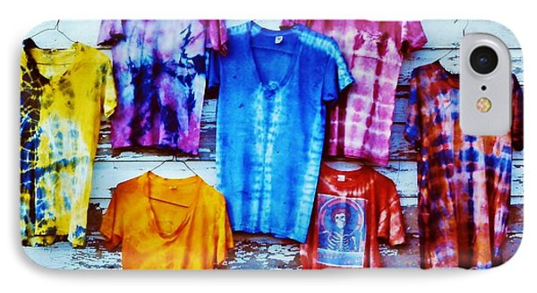 Grateful Dead Tie Dye IPhone Case by Susan Carella