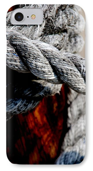 Tied Together IPhone Case by Susanne Van Hulst