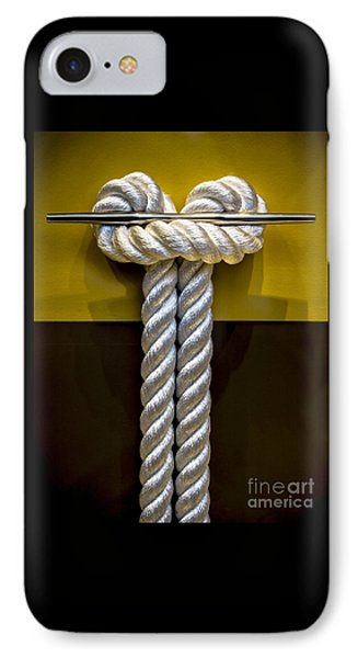Tied Up In Knots IPhone Case by James Aiken