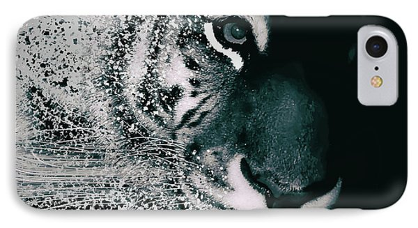 Tiger Dispersion IPhone Case