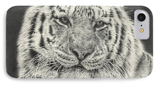 Tiger Drawing IPhone Case