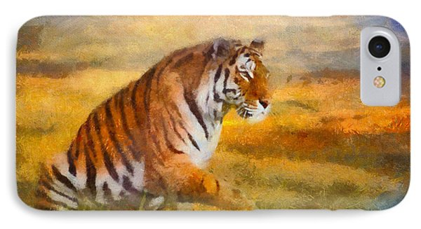 Tiger Dreams IPhone Case by Aimelle