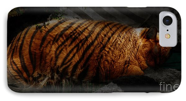 Tiger Dreams Phone Case by Kathi Shotwell