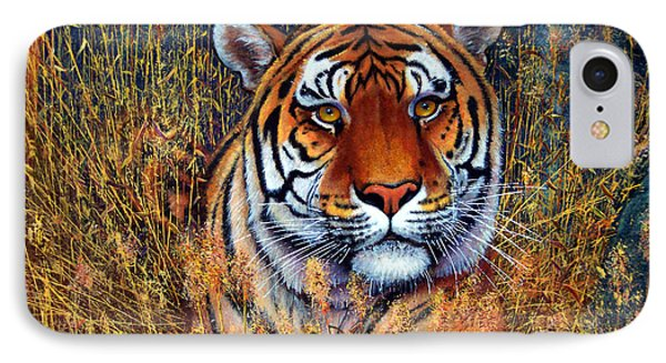 Tiger IPhone Case by Frank Wilson