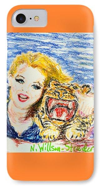 Tiger Hug IPhone Case