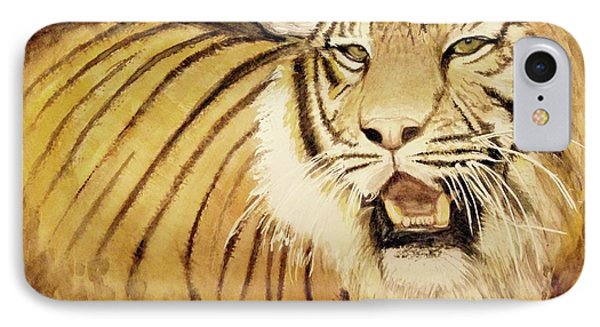 Tiger King IPhone Case by Annie Poitras