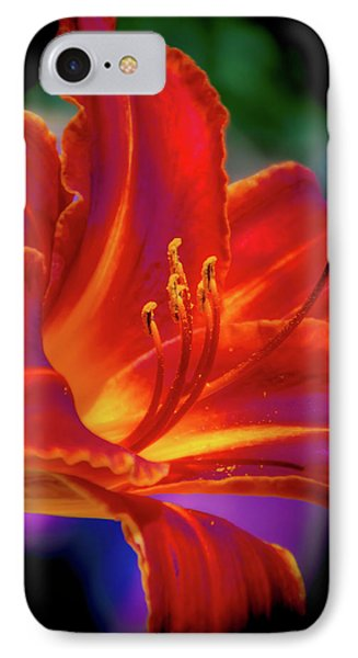 Tiger Lily IPhone Case by Mark Dunton