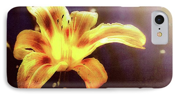 Tiger Lily On Waters Edge Phone Case by Bob Orsillo