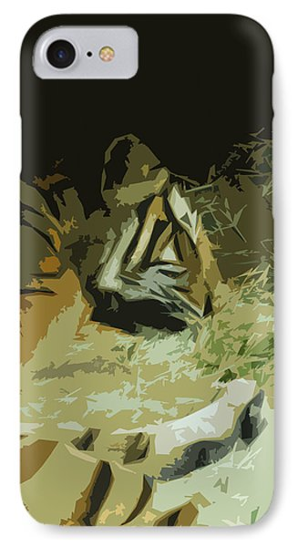 IPhone Case featuring the photograph Tiger by Maggy Marsh
