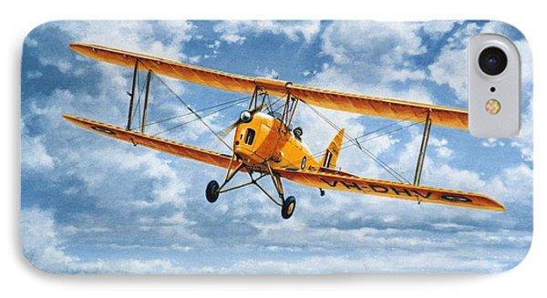 'tiger Moth - Wind Beneath My Wings' IPhone Case