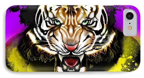 Tiger Rag IPhone Case