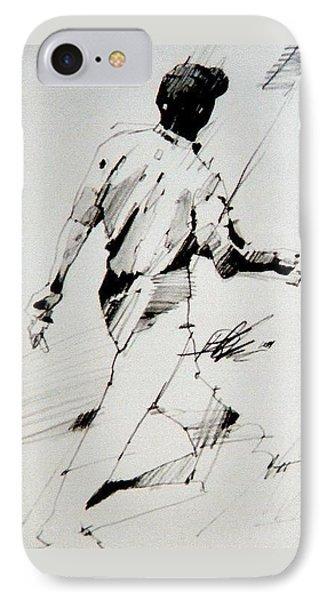 Tiger  IPhone Case by David Kilmer