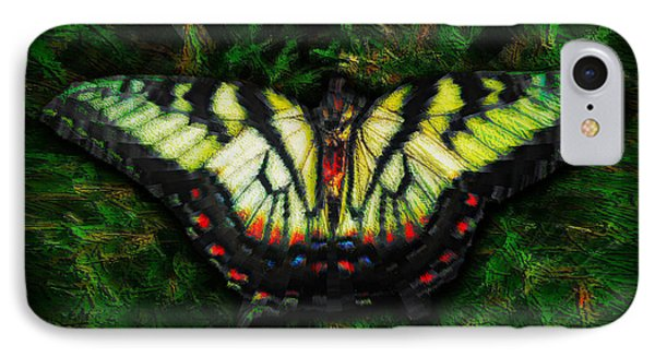 Tiger Swallowtail IPhone Case by Iowan Stone-Flowers
