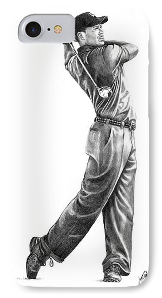 Tiger Woods Full Swing IPhone Case