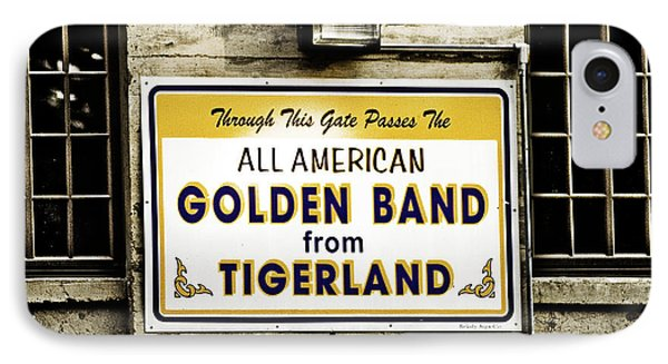 Tigerland Band Phone Case by Scott Pellegrin