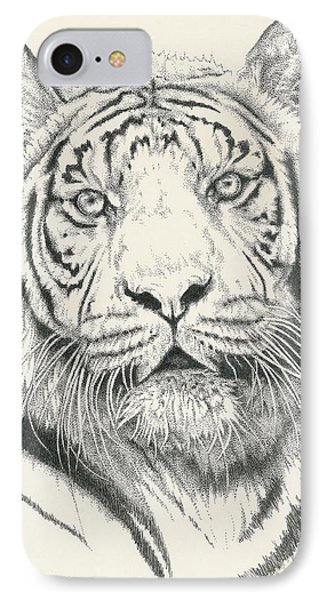 Tigerlily Phone Case by Barbara Keith