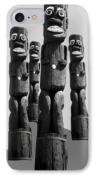 Tiki Invasion IPhone Case by Matthew Bamberg