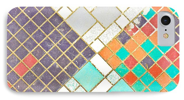 Tiled Surface IPhone Case by Tom Gowanlock