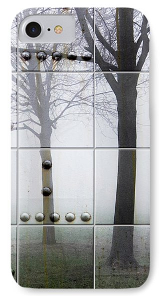 Tiles And Rivets IPhone Case by Joan Ladendorf