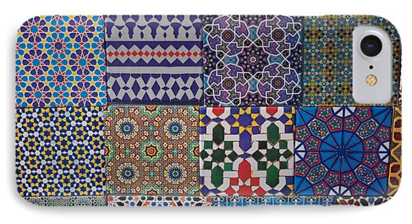 Tiles For Sale In Market, Essaouira IPhone Case by Panoramic Images
