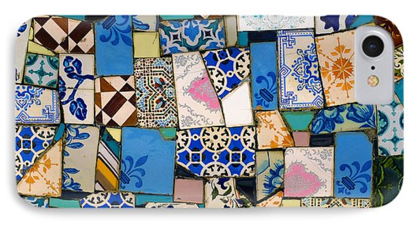 Tiles Fragments IPhone Case by Carlos Caetano