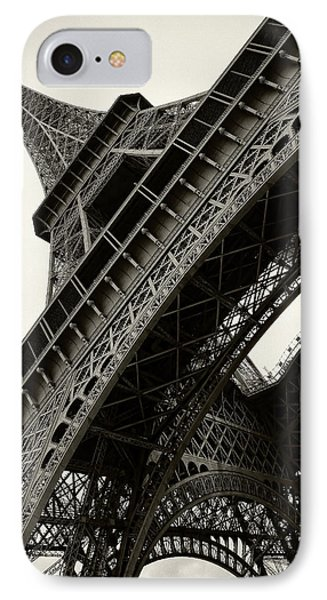 IPhone Case featuring the photograph Tilted Eiffel by Stefan Nielsen