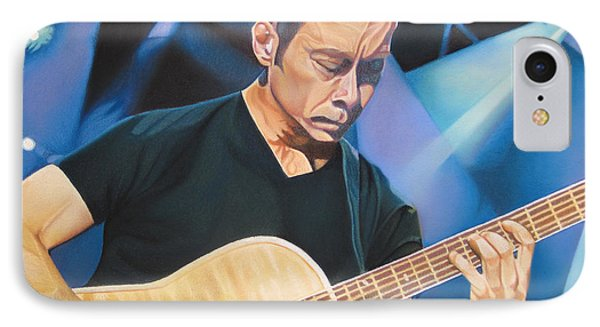 Tim Reynolds And Lights IPhone Case by Joshua Morton