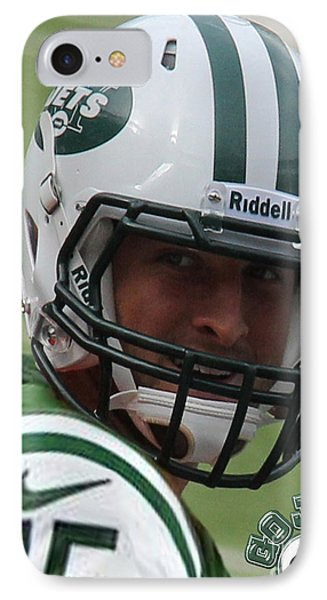 Tim Tebow - New York Jets Florida Gators - Timothy Richard Tebow IPhone Case by Lee Dos Santos