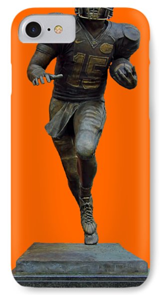 Tim Tebow Transparent For Customization IPhone Case