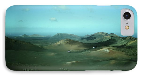 Timanfaya - Lanzarote IPhone Case by Cambion Art