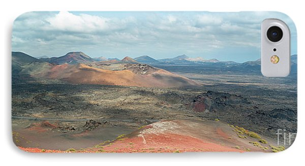 Timanfaya Panorama IPhone Case by Delphimages Photo Creations