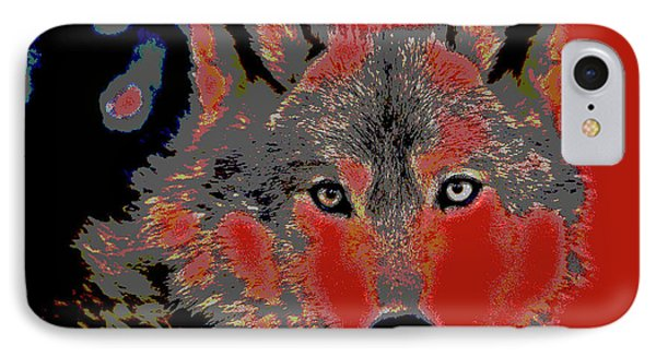 Timber Wolf IPhone Case by Charles Shoup