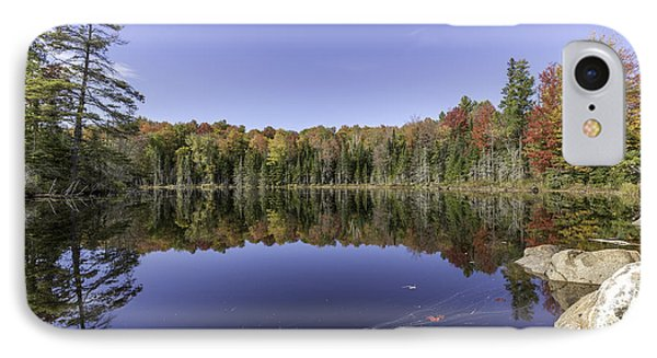 Time At The Lake IPhone Case by Everet Regal